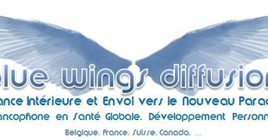 bannire blue wings